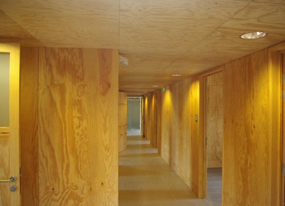 Ossature bois - Chantier de l'écocentre